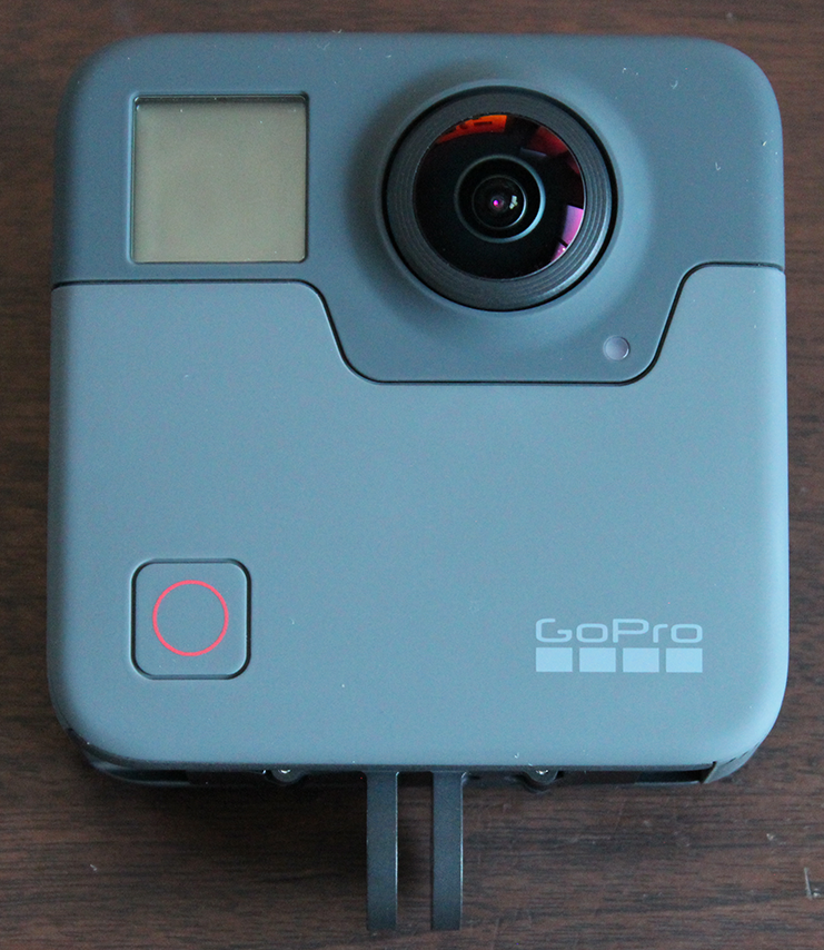 GoProFusion 正面