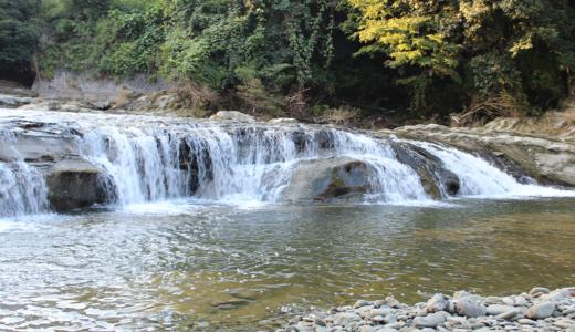 黒原不動滝をドローンで空撮!(千葉県)