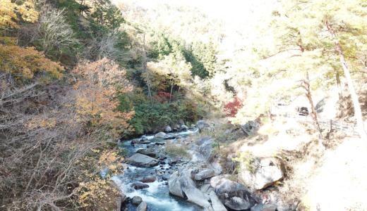 御岳昇仙峡をドローンで空撮!(山梨県)