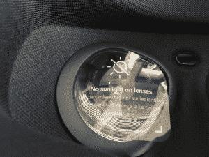 Oculus Go(オキュラス ゴー)装着面注意書き
