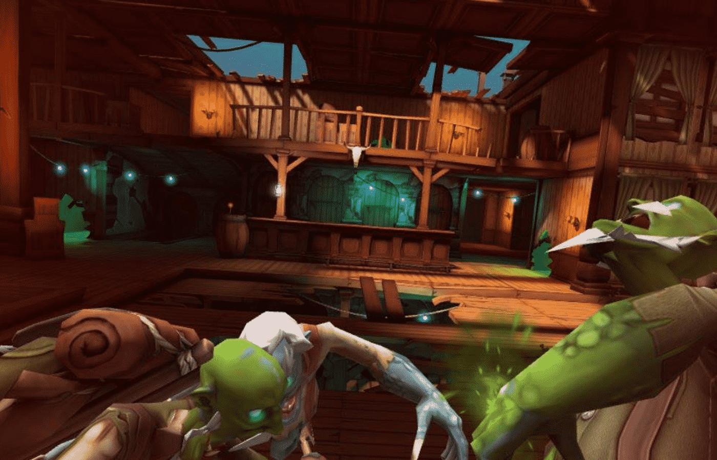 Oculus Go おすすめVRコンテンツ|無料カジュアルFPS!『Dead