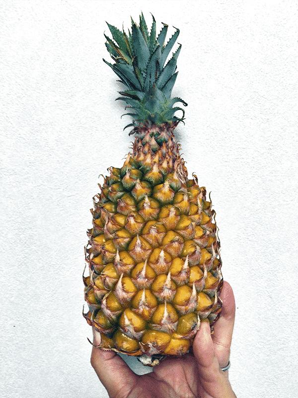 むき た パイナップル か パイナップルの簡単なむき方とは