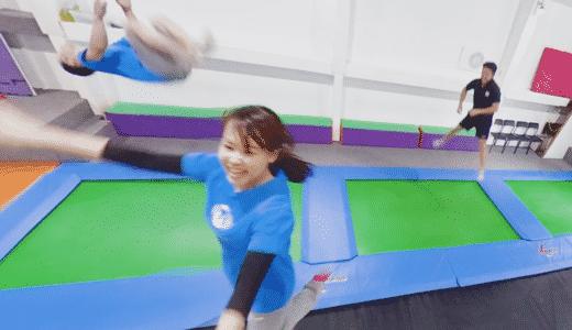 トランポランド東京・スタッフさんの360度VR映像!『GoPro Fusion』と『Insta360Pro』で撮影!