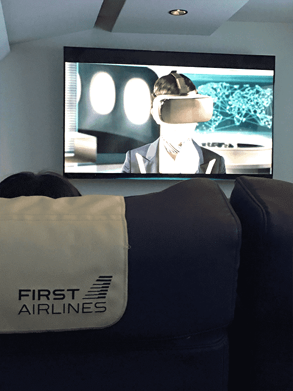 FIRST_AIRLINES 池袋でVR旅行