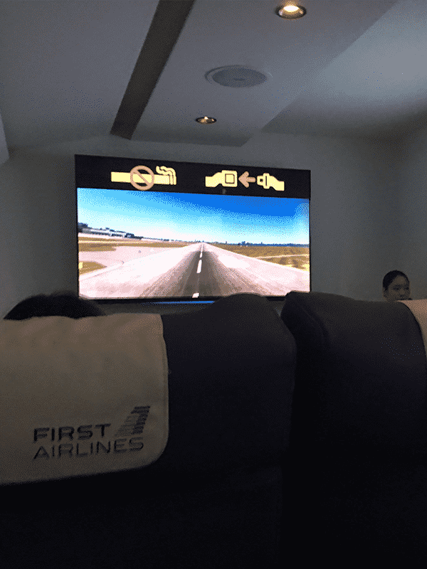 FIRST_AIRLINES テイクオフ
