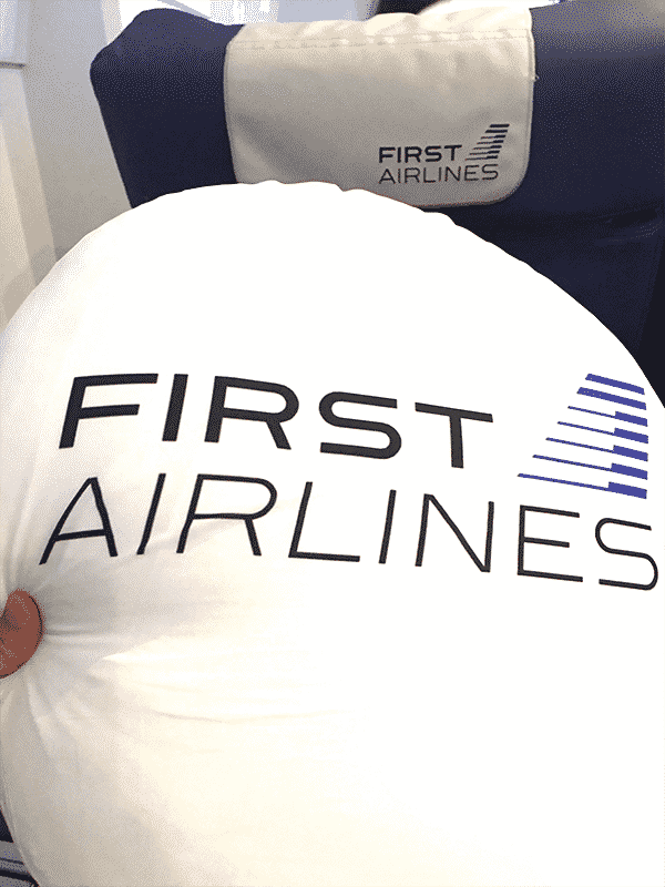 FIRST_AIRLINES クッション