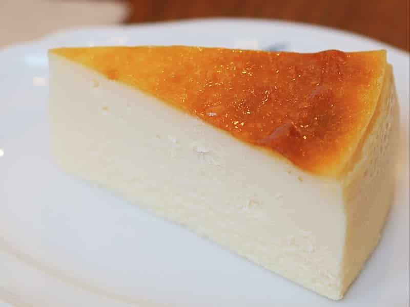 トボルコーヒー チーズケーキ
