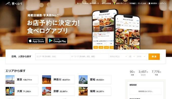 食べログ_飲食店集客グルメサイト