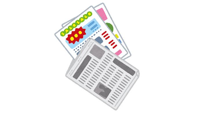 新聞折り込み広告