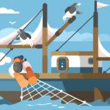 ポスティングの成約率を上げる地域選定とは【ヒント:魚群探知機】