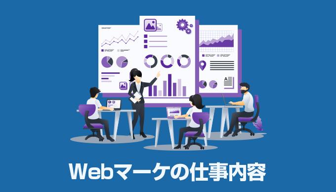 Webマーケティングの仕事内容とは?